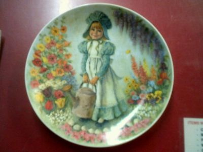 Mary, Mary. collector plate