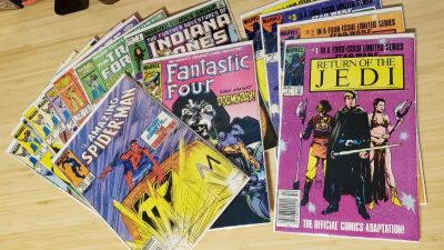 Marvel Comics from the 80s
