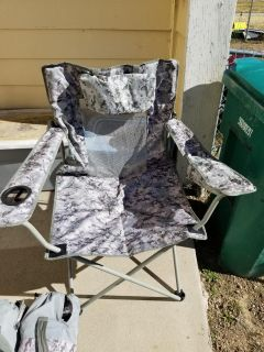 3 Ozark Trails Oversized Defender Folding Chairs