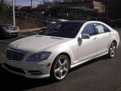 2013 Mercedes-Benz S-Class S550 4MATIC (Diamond White Metallic)