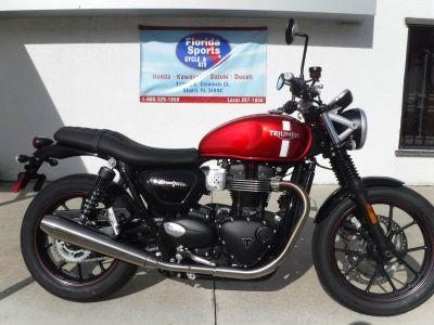 2018 Triumph Street Twin Cruiser Motorcycles Stuart, FL