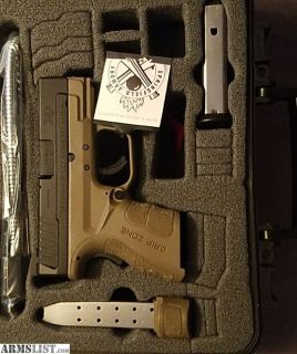 For Sale: Springfield Armory XD Sub Compact Mod.2 | 40 S&W