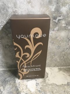 Younique discontinued self tanning spray
