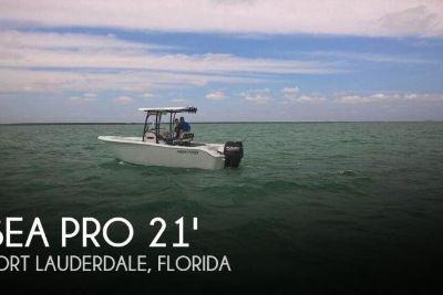 2017 Sea Pro 219 Center Console