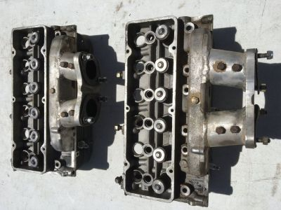 Chevrolet Chevy Corvair Cylinder Heads for Dual Weber Carburetors Corsa Monza