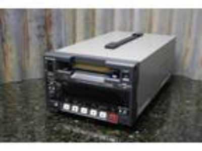 Panasonic AJ-D230HP DVC Pro MiniDV Record Deck Tape Load