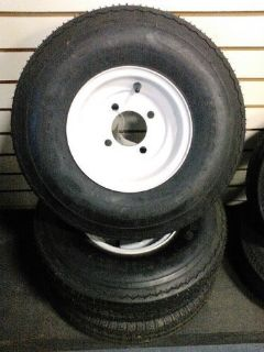 Purchase Cushman/E-Z-GO 5.70X8 LR-B(White 4 Lug) Tire & Wheel Assembly motorcycle in Dania, Florida, United States, for US $50.00