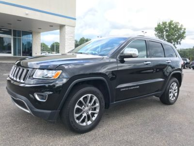 2015 Jeep Grand Cherokee 4WD 4dr Limited (Black)