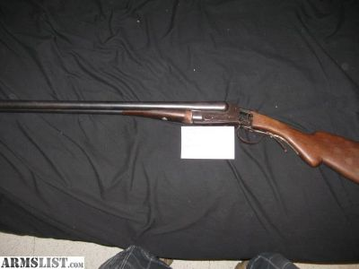 For Sale: list, rifles, shot guns, pistols, miscellaneous