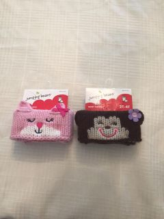 New! 2 pair of Jumping Beans boot cuffs 2T-4T