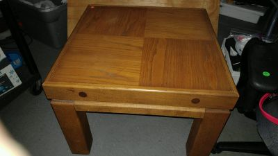 End table and cocktail table (solid OAK)