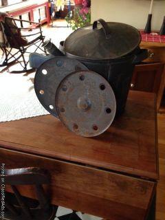 antique clam steamer