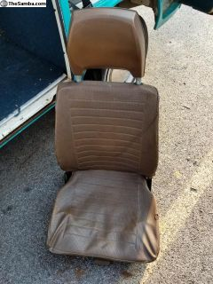 VW Bus Westfalia Seats
