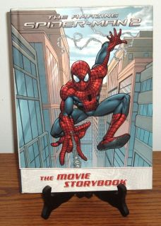 The Amazing Spider Man 2 The Movie Storybook Hard Cover