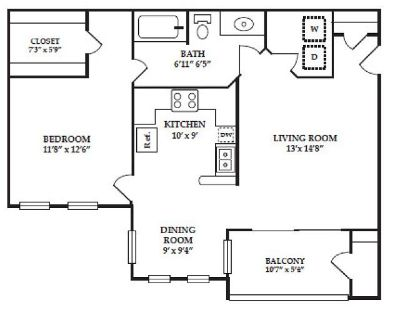 1 BBHK apartment sharing for women, Female Only