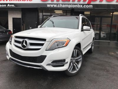 2013 Mercedes-Benz GLK-Class GLK350 4MATIC (Diamond White Metallic)