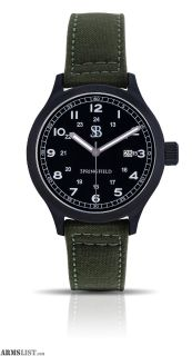 For Sale: Smith & Bradley Springfield PVD Watch Green Cordura Strap BSSPVDGRN