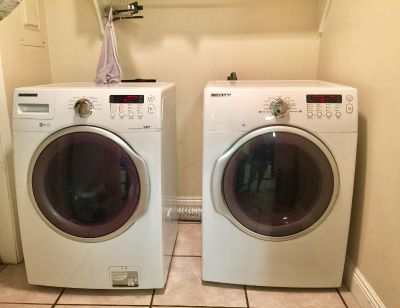 SAMSUNG Washer & Dryer $350 for the set