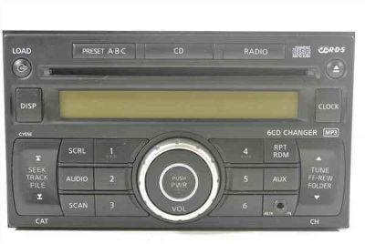 Purchase 07 08 09 Versa 6 Disc CD MP3 Player Radio OEM LKQ motorcycle in Santa Fe Springs, California, US, for US $147.62