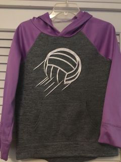 Justice Volleyball Hoodie Size 14
