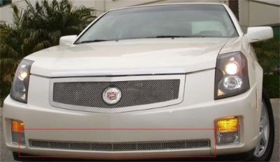 Sell T-Rex 55192 Stainless Bumper Mesh Grille 2Pc Bumper Caps Fits 03-07 Cadillac CTS motorcycle in Naples, Florida, United States, for US $210.58