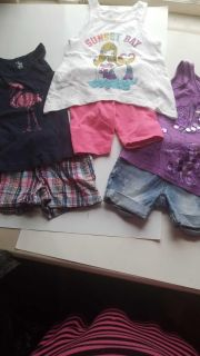 10 outfits--- Girl's size 4
