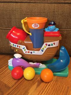Pop and Rock pirate ship with balls