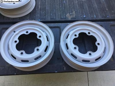 1966- 67 Wide Five Slotted Wheels VGC