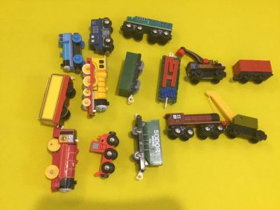 Thomas and friends trains older Lot.