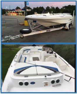 2004 Glastron Deck boat –5.0 L Volvo Penta Motor