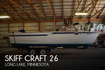 1984 Skiff Craft X-260