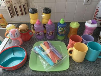 Miscellaneous kid dishes