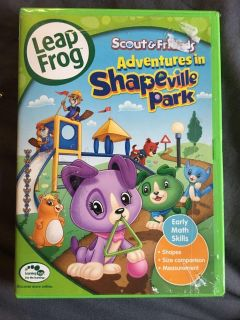 Leap frog scout and friends - adventures in shapeville park dvd