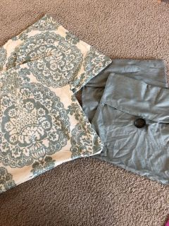 Pottery Barn couch pillow covers