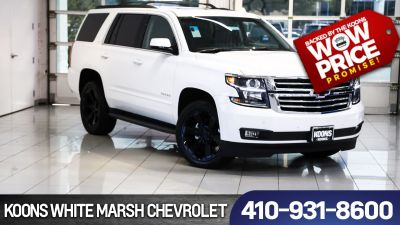 2018 Chevrolet Tahoe LT (summit white)