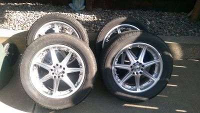 Universal tires and rims