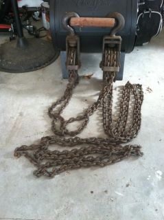 Antique Chain Hoist
