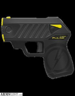 For Sale: Pulse Taser with 3 cartridges and holster