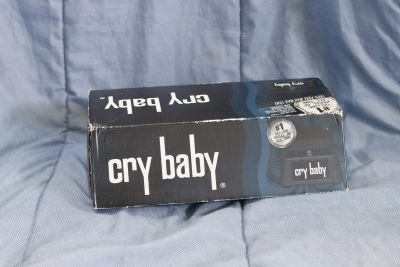 Cry baby guitar pedal