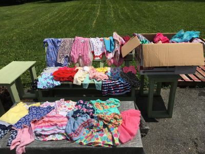 Baby girl clothes sizes newborn to 18 months
