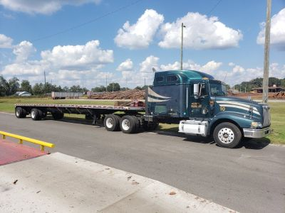 2001 transcraft eagle 102X48 flatbed trailer
