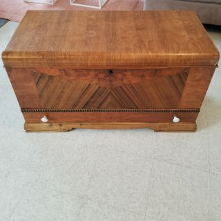 FREE-solid oak hope chest