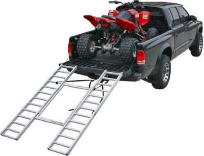 Find ADJUSTABLE ATV-QUAD 4 WHEELER TRI-FOLD LOADING RAMP (ITF-7652-A) motorcycle in West Bend, Wisconsin, US, for US $142.99