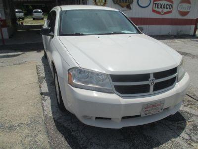 2010 Dodge Avenger SXT (White)