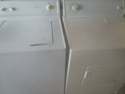 Nice Super size Washer +Dryer