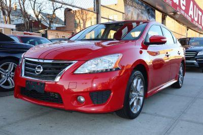 2015 Nissan Sentra 4dr Sdn I4 CVT SV (Cayenne Red)