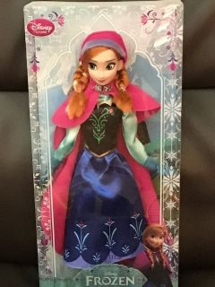 Disney Frozen collectible Anna doll