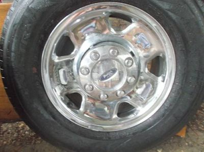 "OFFERS? Four 17"" Ford 3/4 Ton Rims, Wheel Covers and Center Caps."