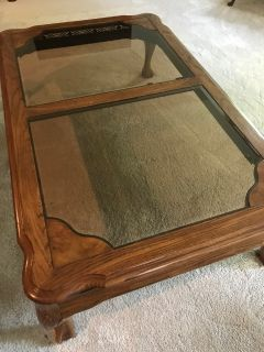 Coffee table, sofa table, 2 lamp tables