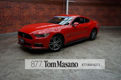 2017 Ford Mustang (red)
